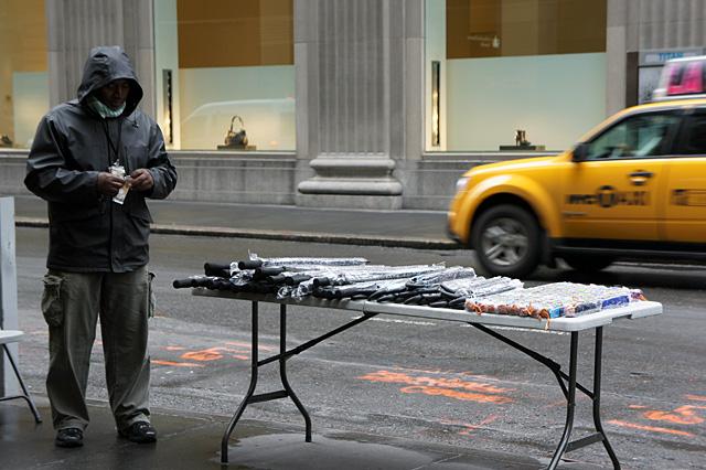 傘売りおじさん
